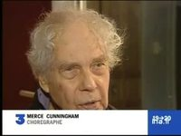 Portrait de Merce Cunningham