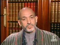 Interview de Hamid Karzai