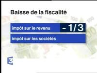 Projet fiscal Jacques Chirac