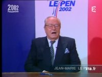 Réaction de Jean-Marie Le Pen