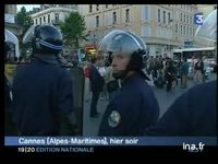 [Cannes : violences policières contre les intermittents]