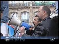 France : manifestation contre les caricatures de Mahomet