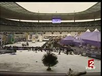 Le Stade de France transformé en station de sports d'hiver