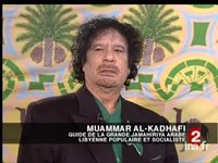 Interview du colonel Kadhafi