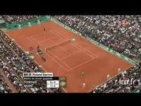 Tennis. Internationaux de France : Roland Garros. Finale messieurs Nadal-Federer