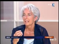 Plateau invité : Christine Lagarde