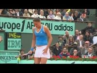 Tennis. Internationaux de France : Roland Garros. Finale dames Kuznetsova-Safina