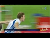 Christophe Lemaitre champion d'Europe du 100 mètres