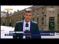 Arrestation de DSK : Patrice Machuret en direct de l'Elysée