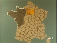 Carte de France du chômage