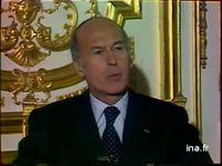 Valéry Giscard d'Estaing interview sur le Zaïre