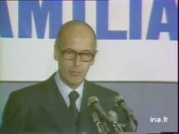 Valery Giscard d'Estaing famille+discours