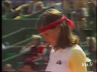 Tennis. Internationaux de France à Roland Garros : émission du 04 juin 1981