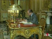 Chambre accusation / Chirac