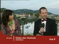 Pages Cannes : Duplex Pascale Deschamps, Lars Von Trier et Bjork