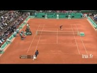 Tennis. Internationaux de France : Roland Garros. Demi finale messieurs Federer-Monfils