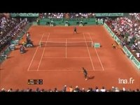 Tennis. Internationaux de France : Roland Garros. Simple messieurs Del Potro-Tsonga
