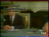 Conseil constitutionnel :  Roger FREY