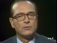 Cartes sur tables avec Jacques Chirac