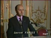 Déclaration Laurent FABIUS