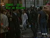 Paris : attentat magasin Tati rue de Rennes