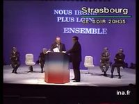 Annonce Chirac Strasbourg