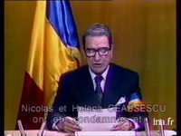 Annonce exécution Ceausescu