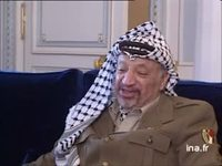 Interview de Yasser Arafat