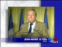 Déclaration Jean Marie le Pen à Saint Cloud