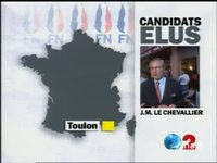 Carte Front national