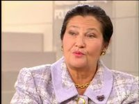 Interview de Simone Veil ancien ministre