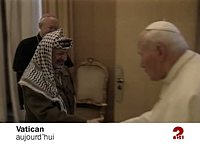 OFF ARAFAT/JEAN PAUL II
