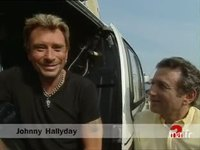 Johnny Hallyday / Répétition