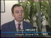 Réaction Bruno Mégret