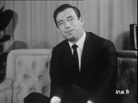 INTERVIEW YVES MONTAND