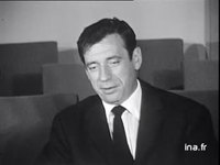 Interview d'Yves MONTAND