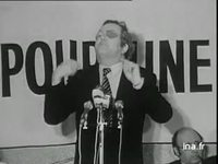 Jean Marie Le Pen : meeting à Paris