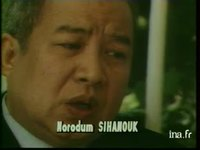 Interview de Norodom Sihanouk