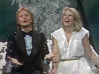 Claude François et  Kathalyn Jones