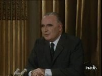 Georges Pompidou sur son supposé conservatisme