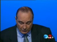 Jacques CHIRAC contre la réduction du temps de travail