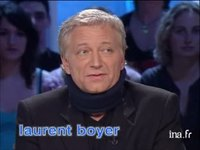 Laurent Boyer à propos de son accident de voiture