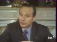 Interview Jacques Chirac : les Halles de Paris