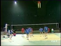 Volley-ball : France / Cuba à Bercy
