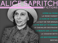 Alice Sapritch - 10 Fictions