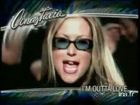 Anastacia : Single i'm outta love avec FUN radio  version 10 secondes