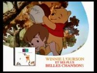 Winnie l'ourson - ses plus belles chansons CD version 20 secondes