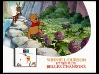 Winnie l'ourson - ses plus belles chansons CD version 10 secondes