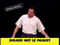 Jean Marie Bigard : Bigard met le paquet version 15 secondes