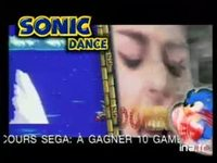 Sonic dance version 20 secondes